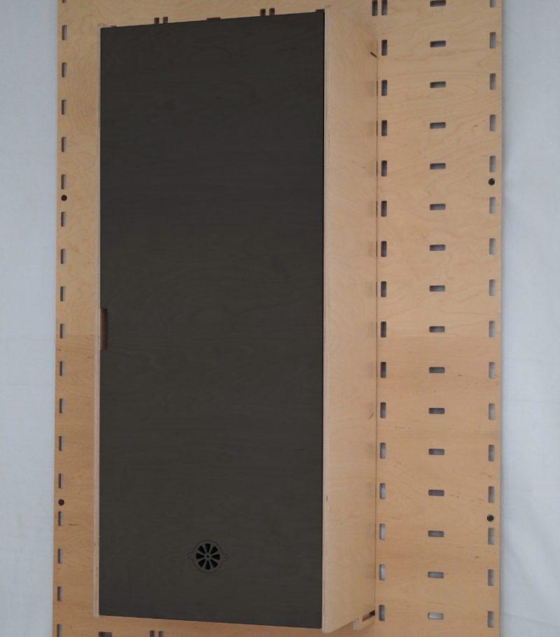 Klik Cupboard Black