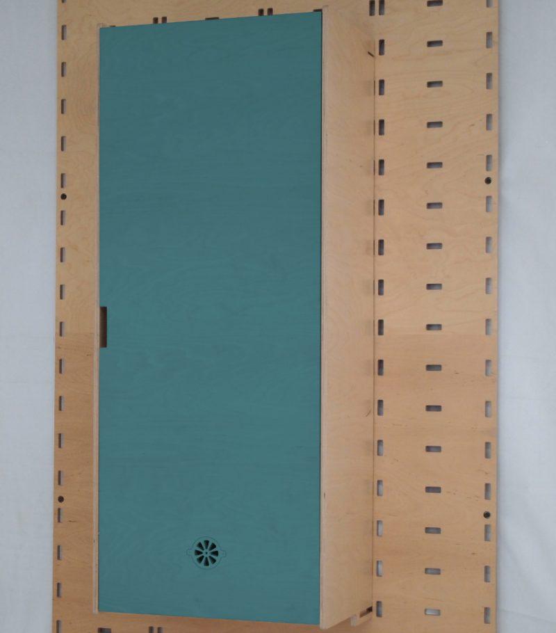 Klik Cupboard Dark Blue