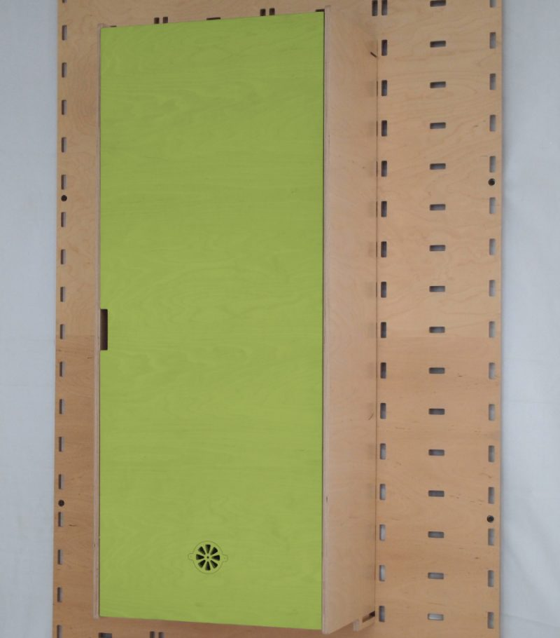 Klik Cupboard Lime Green