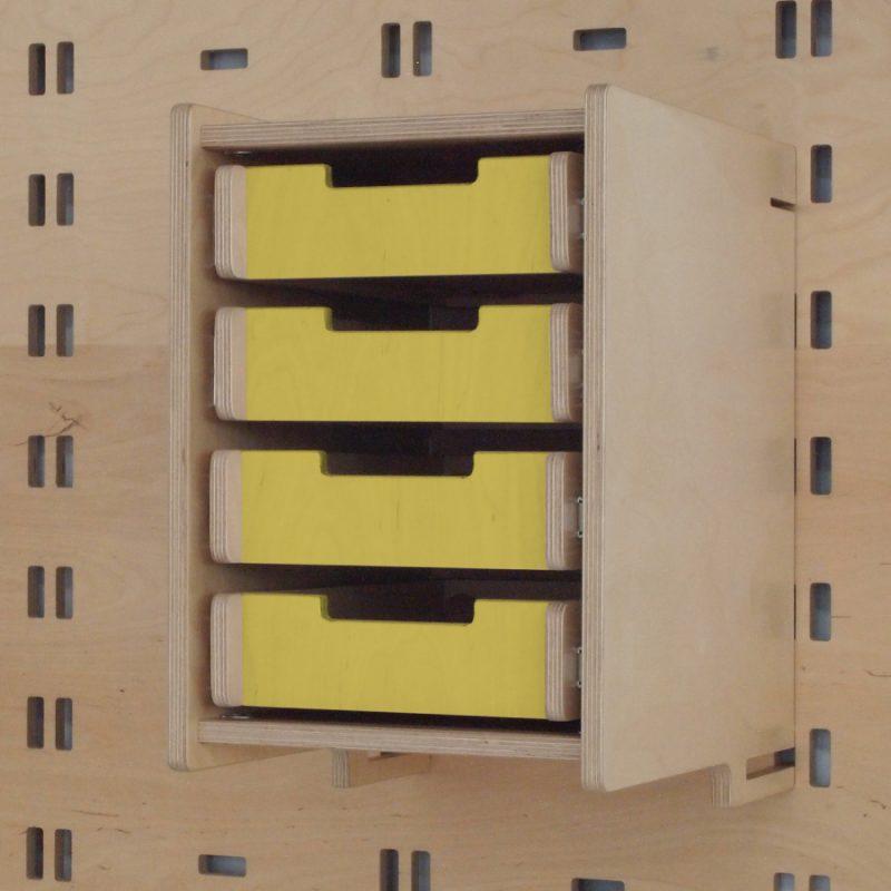 Klik Office Drawers Yellow