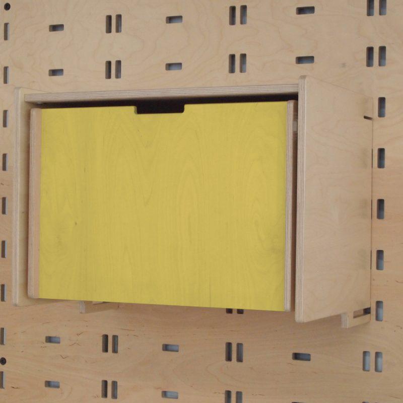 Klik Single Drawer Yellow
