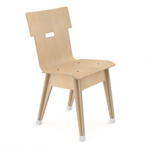 Din+ Dining Chair Natural Birch
