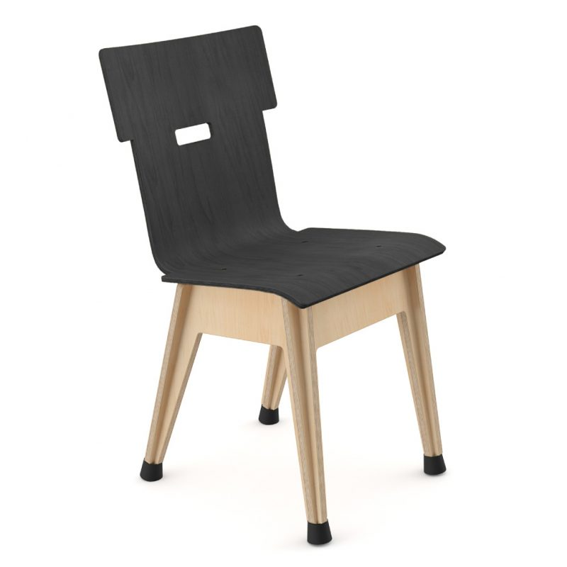 Din+ Dining Chair Stain Black