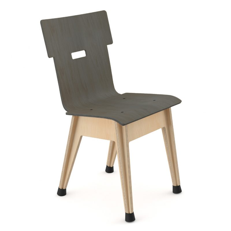 Din+ Dining Chair Stain Charcoal