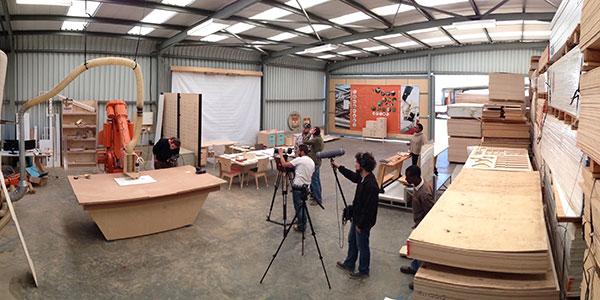 Film Crews at Raw Studios