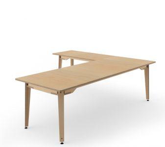 L-shaped workstation 100