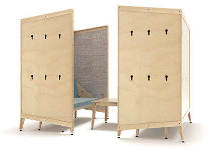 co-space collaborative nook configuration