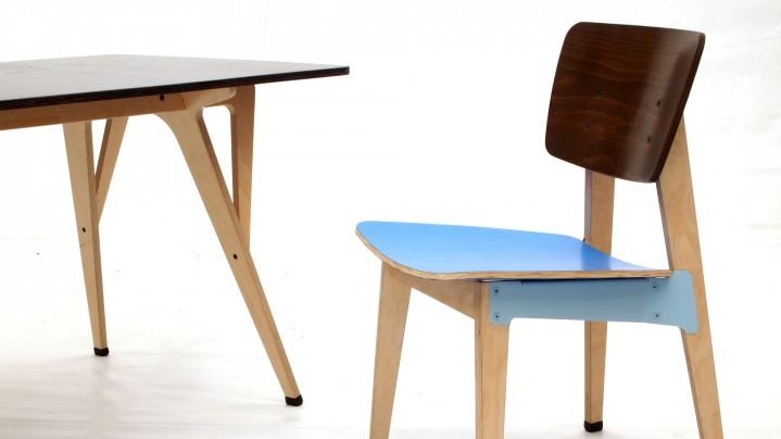Raw OhTwo chair and table