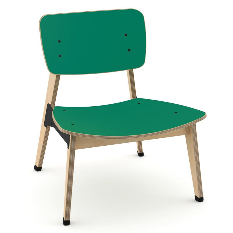Ohtwo Occasional Chair 101 Laminate Grass Green