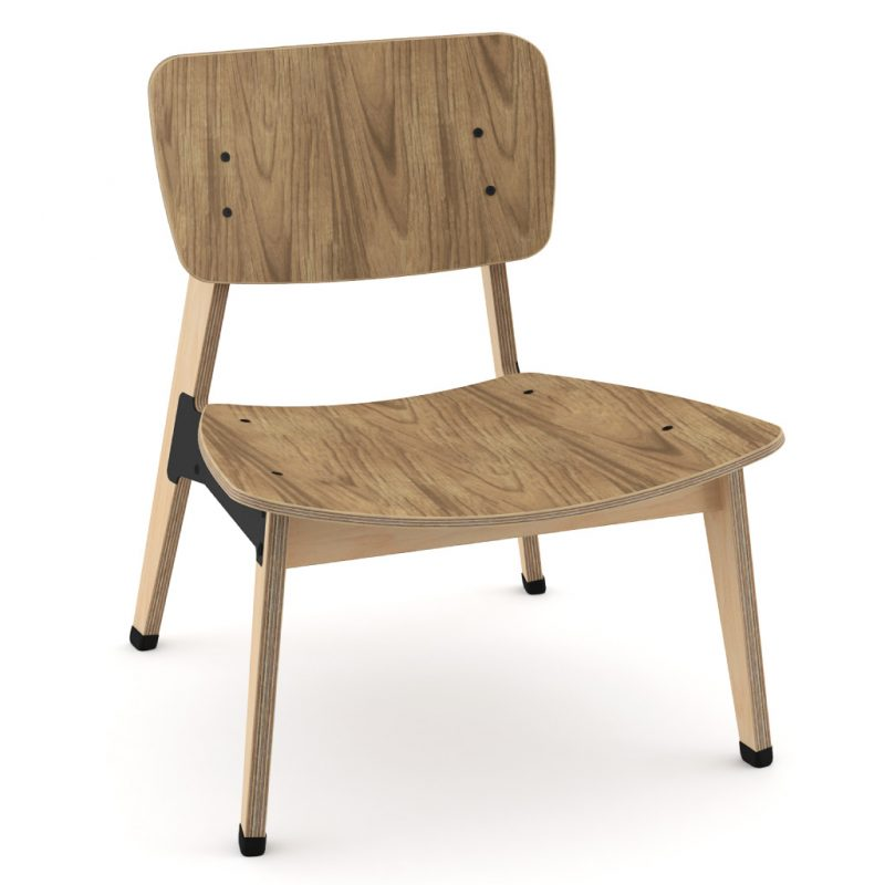 Ohtwo Occasional Chair 101 Natural Walnut