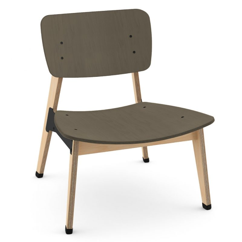 Ohtwo Occasional Chair 101 Stain Charcoal