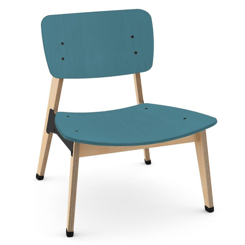 Ohtwo Occasional Chair 101 Stain Dark Blue