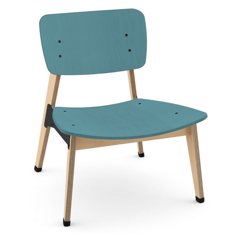 Ohtwo Occasional Chair 101 Stain Light Blue