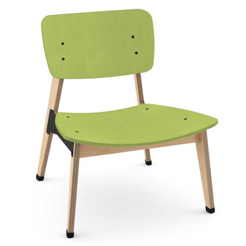 Ohtwo Occasional Chair 101 Stain Lime Green