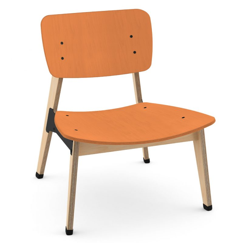 Ohtwo Occasional Chair 101 Stain Orange