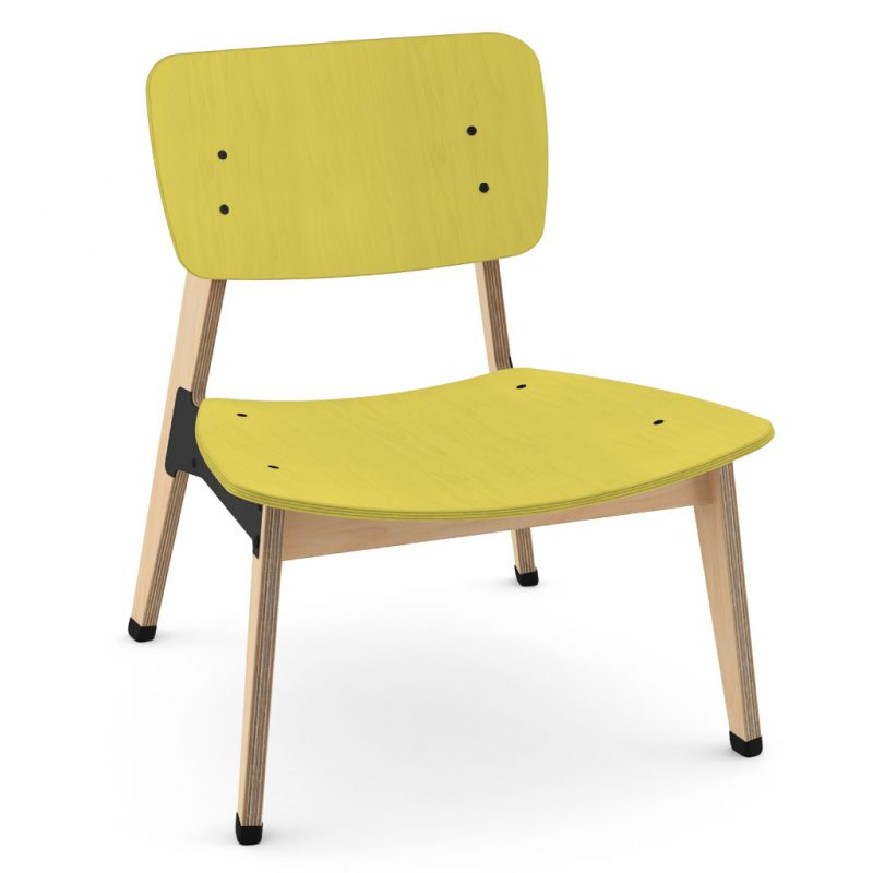 Ohtwo Occasional Chair 101 Stain Yellow