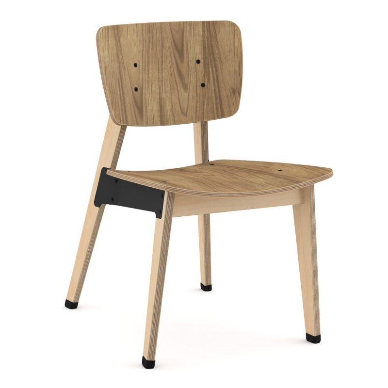 Ohtwo Dining Chair 100 Natural Walnut