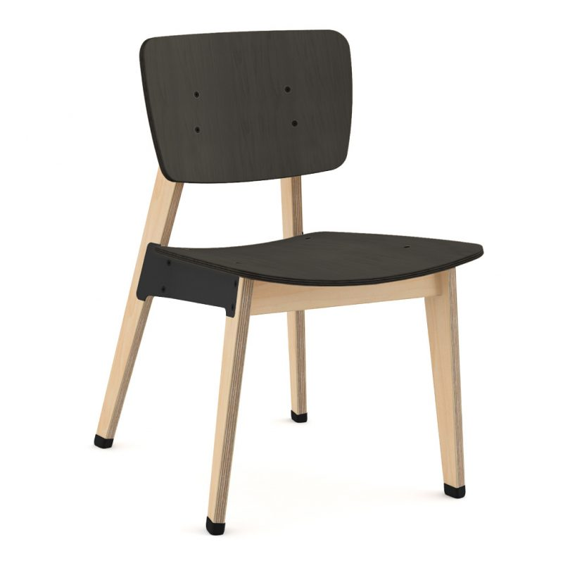 Ohtwo Dining Chair 100 Stain Black