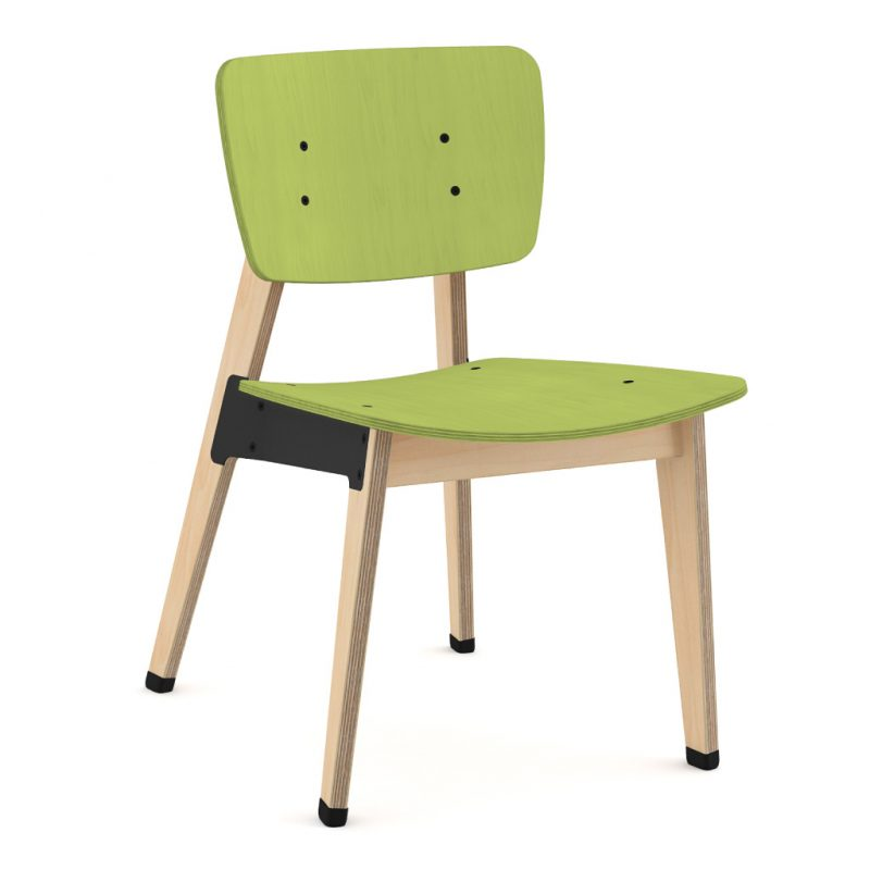 Ohtwo Dining Chair 100 Stain Lime Green