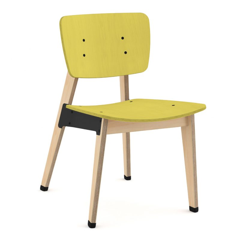 Ohtwo Dining Chair 100 Stain YellowOhtwo Dining Chair 100 Stain Yellow