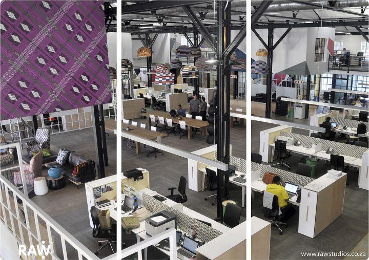 RAW Studios Nando's Workspace
