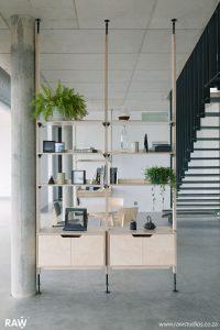 RAW Studios Stilts Shelves