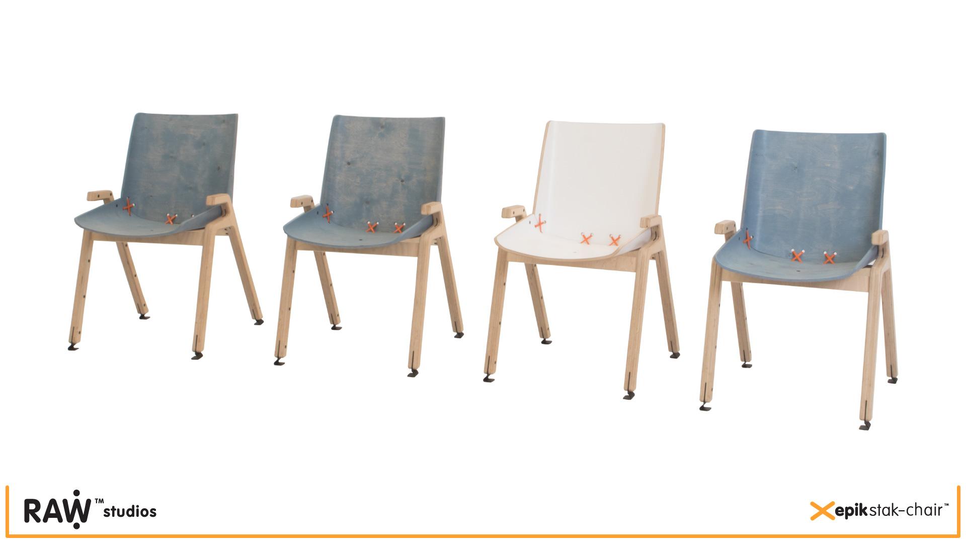 RAW Work_epik stak-chair