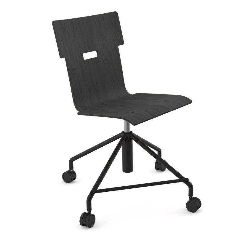 Handi Chair Steel 101 Stain Black