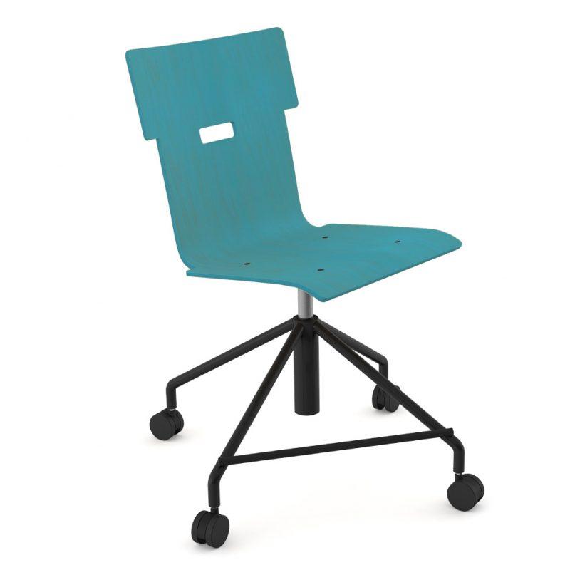 Handi Chair Steel 101 Stain Light Blue