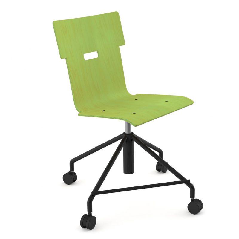 Handi Chair Steel 101 Stain Lime Green