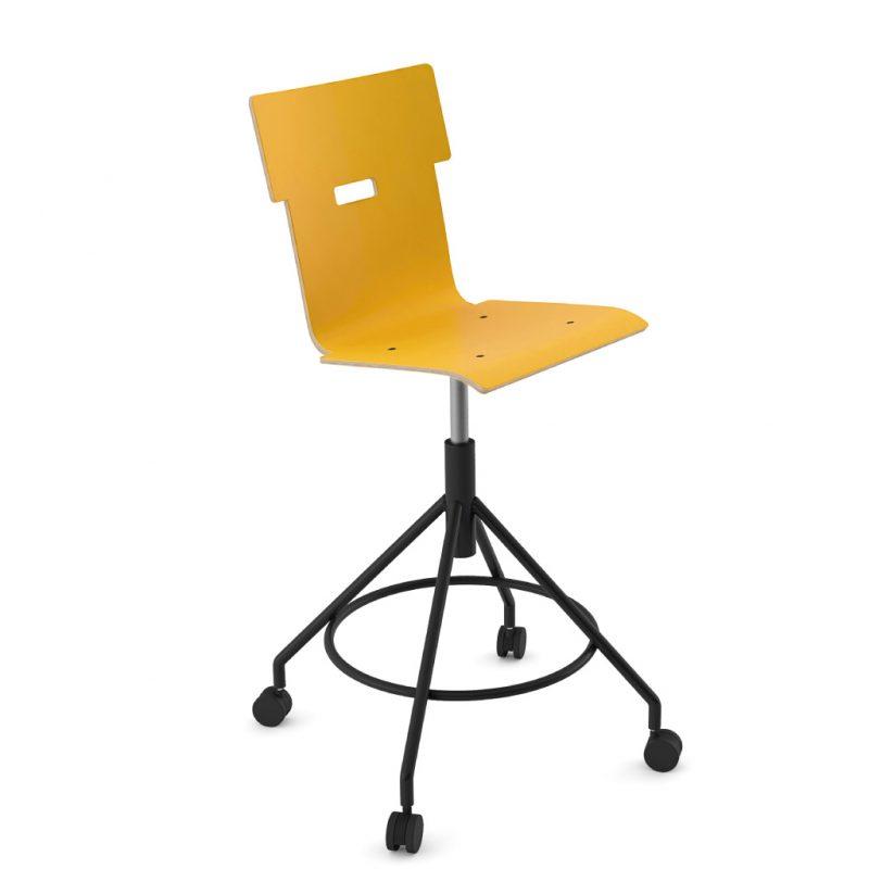 Handi Chair Tall 102 Laminate Sun Yellow