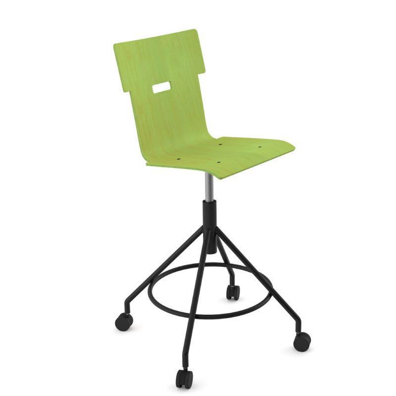 Handi Chair Tall 102 Stain Lime Green