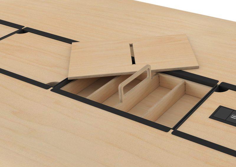 Standpoint add-on Storage trays