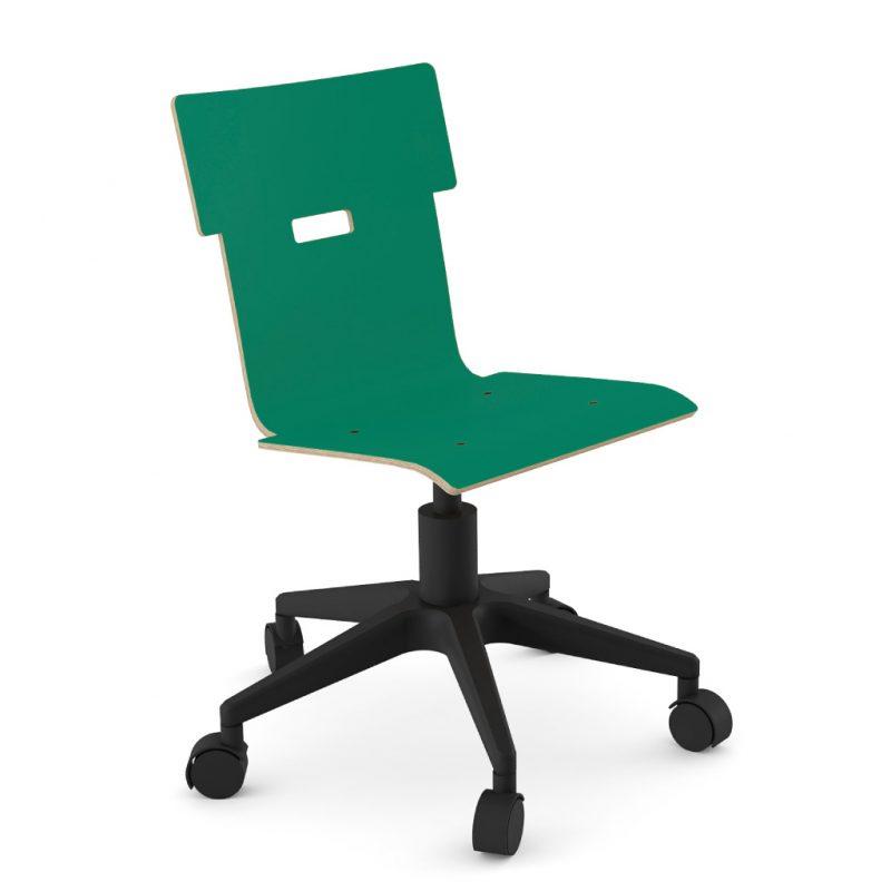 Handi Chair 100 Laminate Grass Green