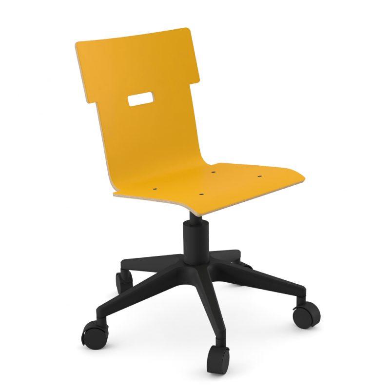 Handi Chair 100 Laminate Sun Yellow