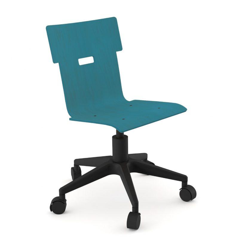 Handi Chair 100 Stain Dark Blue
