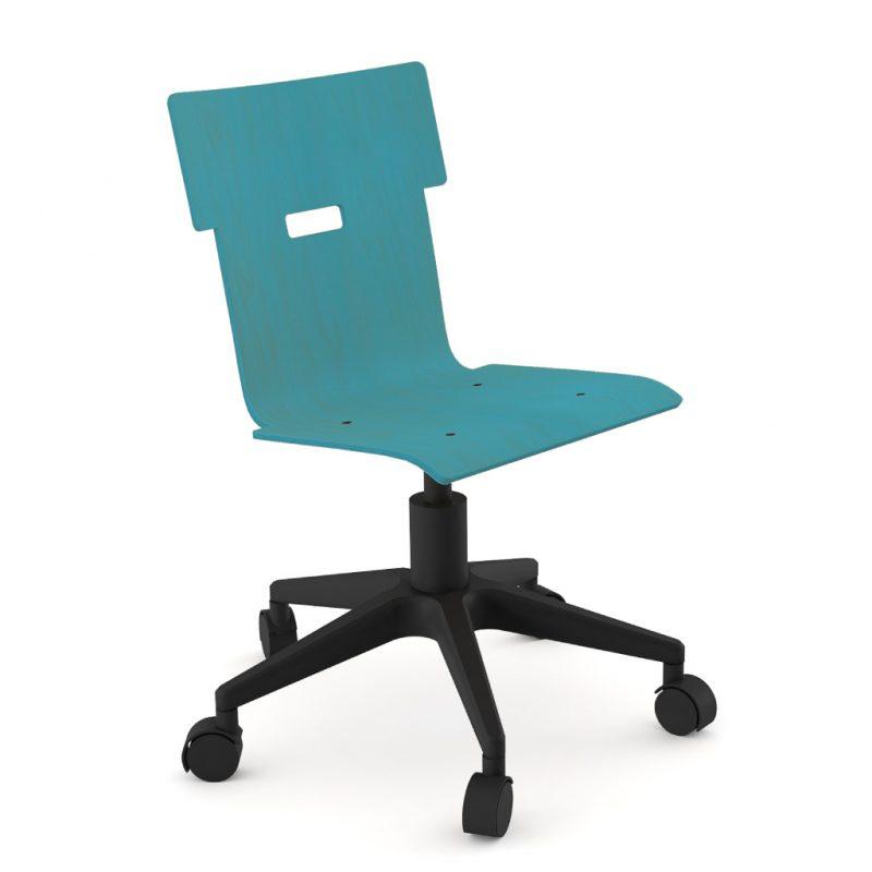 Handi Chair 100 Stain Light Blue