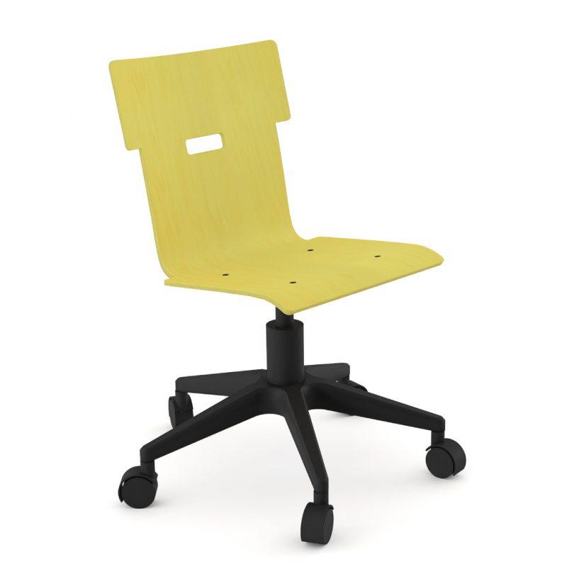 Handi Chair 100 Stain Yellow