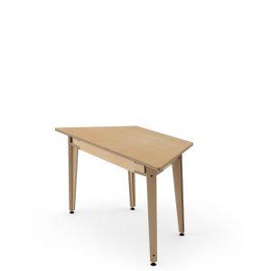 Trapezoidal Workstation Table 100