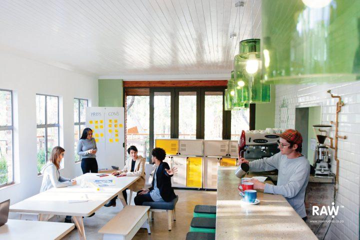 RAW Epik workspace range Greenhouse office work life canteen furniture
