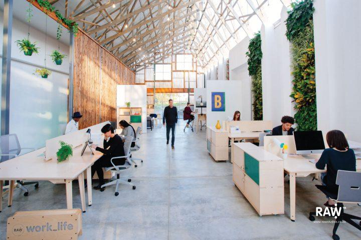 RAW Epik workspace range Greenhouse office work life furniture