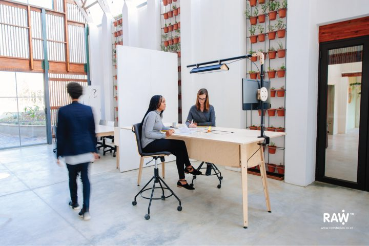 RAW Epik workspace range Greenhouse office work life standpoint workstation desk furniture