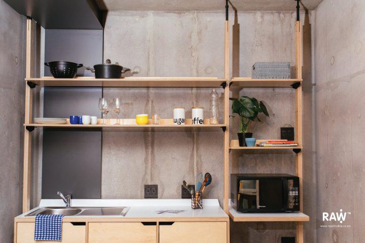 RAW TUKS Stilts Future Africa Institute kitchen furniture