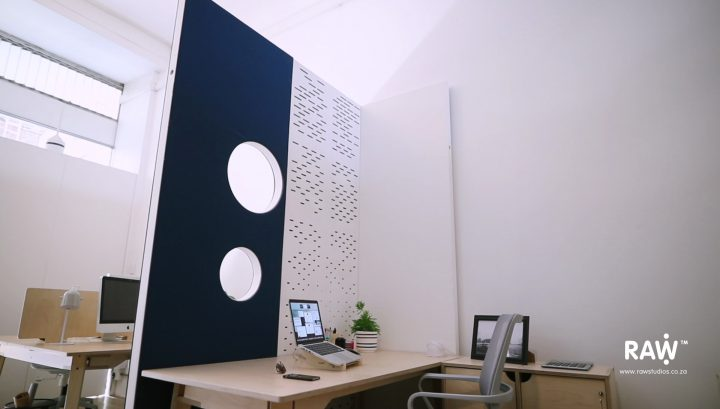 They Project WallSpace modular walling system Office Accoustic Worksplace Divider desk chair furniture