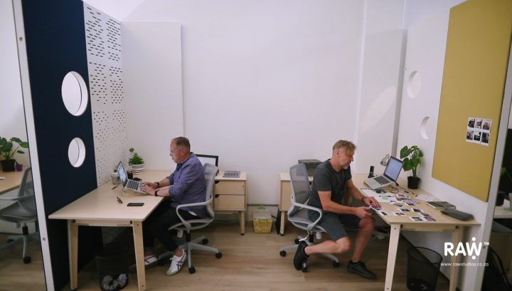 They Project WallSpace modular walling system Office Accoustic Workstation Divider desk furniture