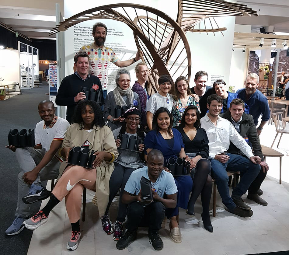 100% Design 2019 Designer Award Winners - photo credits SA Décor