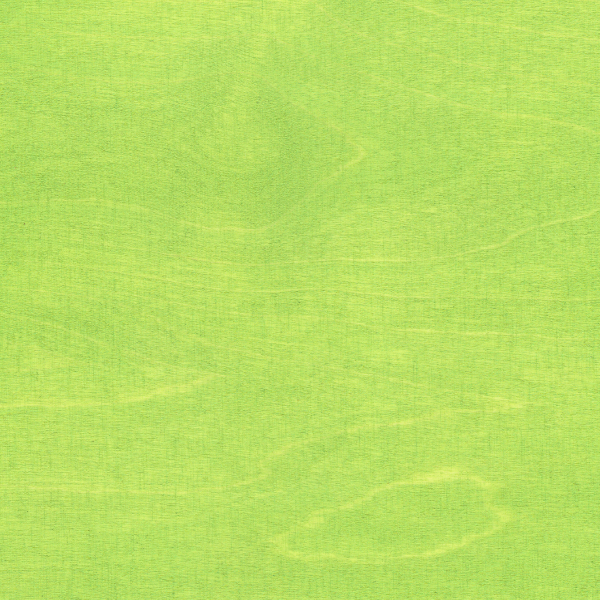 RAW Stain finish Lime Green