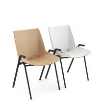 Stak Chair 101 Steel Base Combination